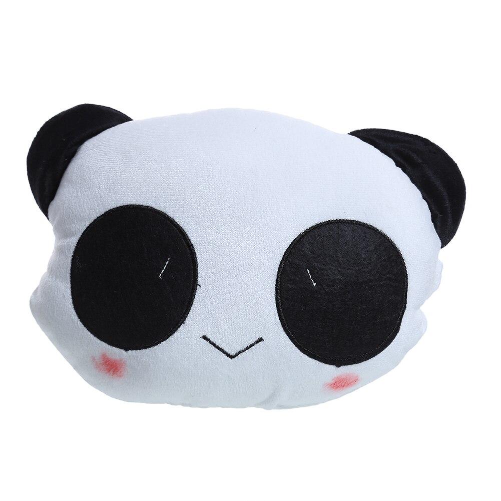 Lucu Kartun Panda Leher Bantal Mobil Kepala Sisanya Kursi Cover Pelindung Perlengkapan Untuk Universal Nyaman Berkualitas Tinggi