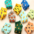 2017 Fruit Candy Baby Socks Anti Slip Baby Girl Socks Boy Newborn Kids Socks Warm Cotton Winter Calcetines Meias Infantil