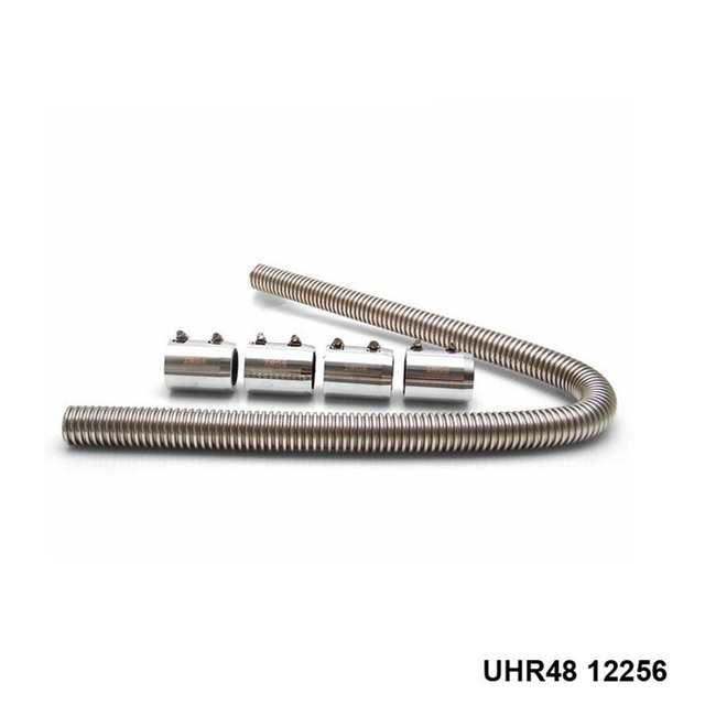 """Ultra Radiator Hose 48"""" with 4 End Caps UHR48 12256"""