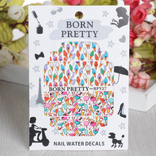 BORN PRETTY Ice Cream Nail Art Sticker