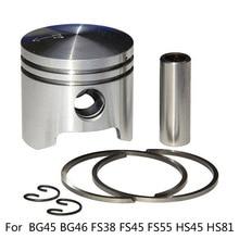 34MM FOR Stihl BG45 BG46 FS38 FS45 FS55 HS45 HS81 Trimmer Blower Piston Kit Set High Quality New Brand Hot Sale Piston Kit цены онлайн