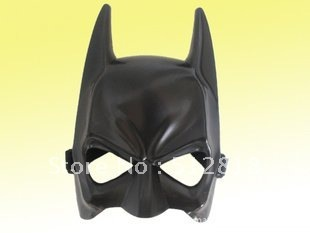Half face batman mask for masquerade ball park Halloween carnival ,PP,37g,16*15*6.4cm,288pcs/lot EMS or HKDHLfree shipping