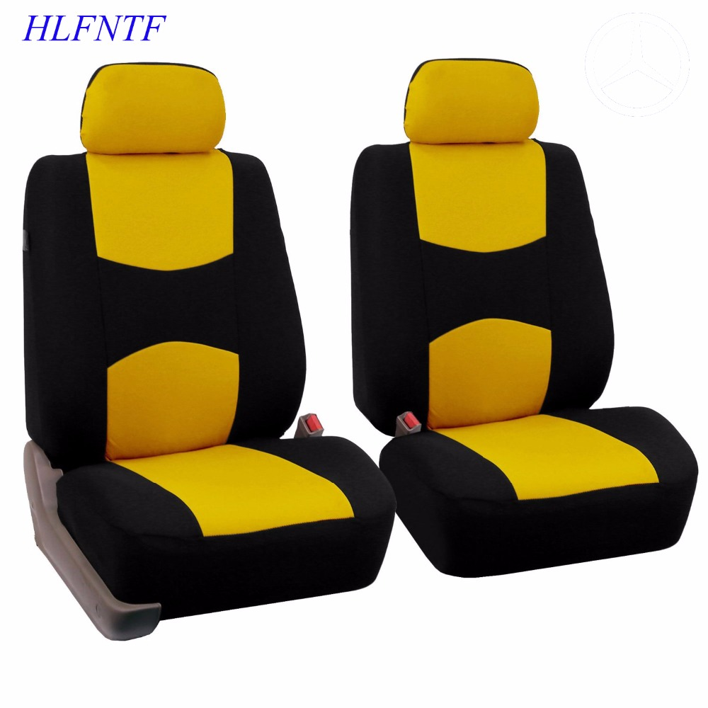 Embroidery logo Car Seat Cover Front&Rear complete 5 Seat For Toyota Corolla Camry Rav4 avensis auris car-styling Four Season cool color gradient car body garland car waistline styling sticker for toyota corolla avensis and so on