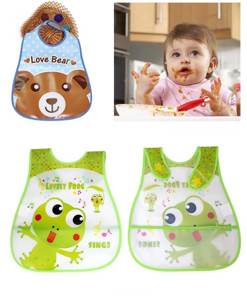 2016 Fashion Baby Bibs Waterproof Cartoon Bib Burp Cloths For Children Self Feeding Care Bandana Bibs (34)