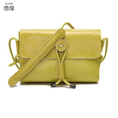 Здесь продается  XIYUAN BRAND lady high quality 100% Genuine Leather green Bags Sheepskin Women white Handbags female Crossbody Bags For Women  Камера и Сумки