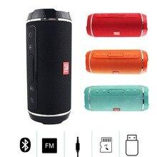 где купить MINI Portable Wireless Bluetooth Speaker Outdoor Waterproof Usb Fm Tf Card Subwoofer Stereo Bass Mini Column Box Loudspeaker по лучшей цене
