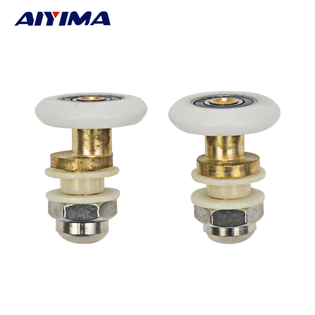 aiyima 5x partiality duschtr rollenluferrderriemenscheiben durchmesser 25mm - Duschtur Rollen