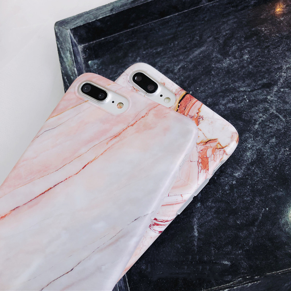 Moskado Shell Phone Case With Glossy Granite Marble Stone Cover For iPhone 11 Pro X XS Max XR 11