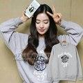 Красный Бархат Жемчужина Hyun Bae Ирен должны помочь тот же пункт толстовка пальто прилив бренд мужчины и женщины бороться песню одежда