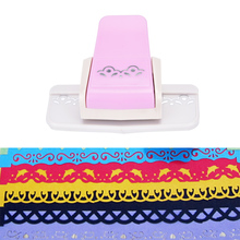 Paper-Cutter Border-Punch Edge-Device Craft Scrapbooking Flower-Design Handmade DIY Gift