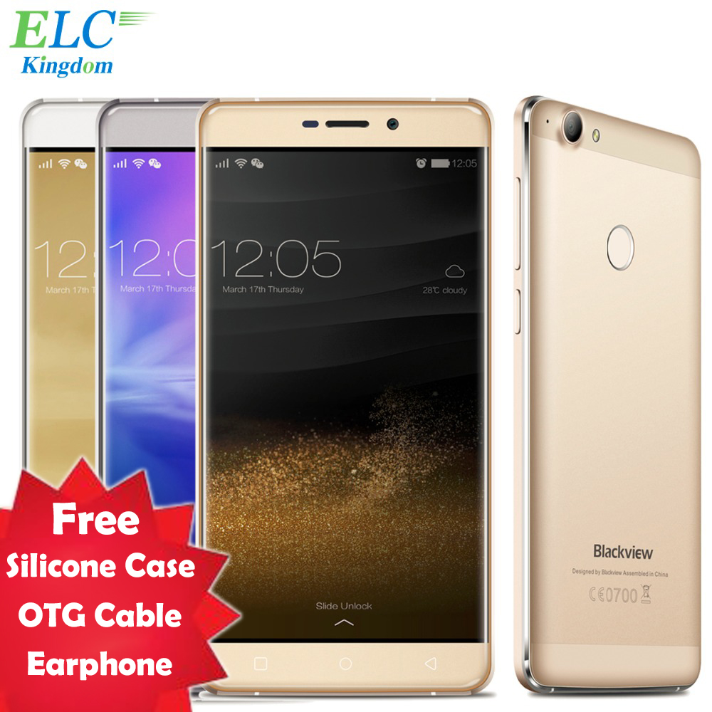 Newest Blackview R7 5 5 4G LTE Mobile Phone Android 6 0 MTK6755 Octa Core 4GB