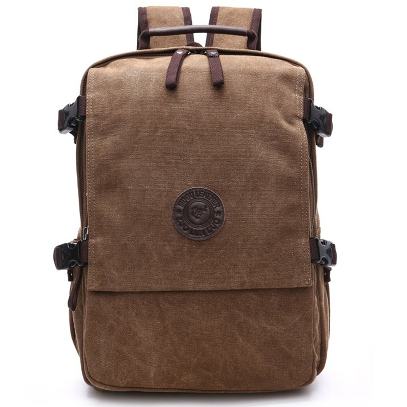 Men Canvas Backpack Fashion College Student Bag For Teenagers Male Laptop Mochila Casual Travel Rucksacks Women Back Pack Bolsos augur 2018 brand men backpack waterproof 15inch laptop back teenage college dayback larger capacity travel bag pack for male