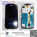 Оригинальный Сенсорный экран дигитайзер + ЖК-дисплей Для HTC ONE S Z520E с рамкой быстрая доставка отслеживая номер