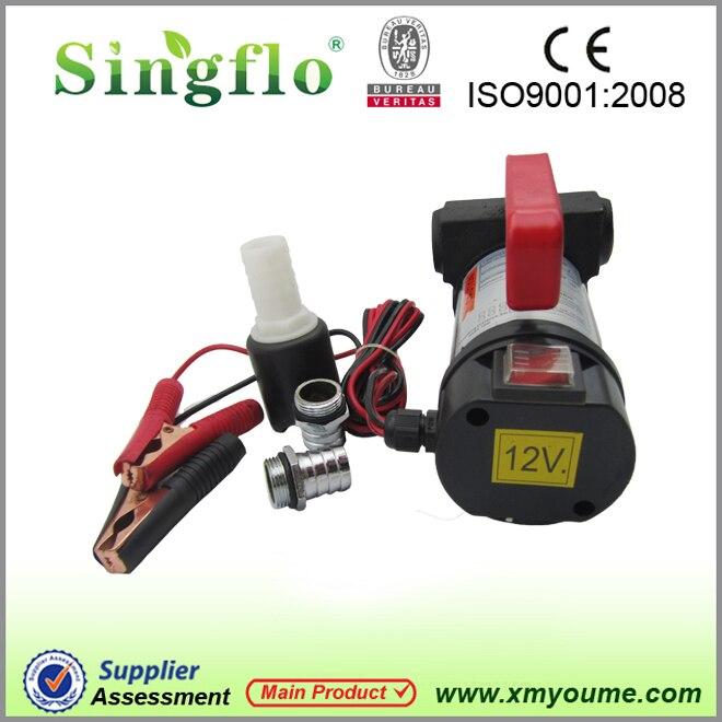 Singflo YTB40 12 V DC 40L/min 155 w pompe de transfert diesel/carburant/huile