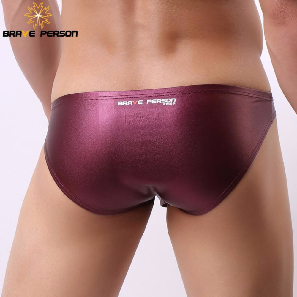 BRAVE PERSON <font><b>Erotic</b></font> <font><b>Underwear</b></font> <font><b>Men</b></font> Briefs <font><b>Sexy</b></font> <font><b>Underwear</b></font> Low-waist <font><b>Men's</b></font> Underpants Briefs Shorts Bright Fabric 2018 New Arrivals image