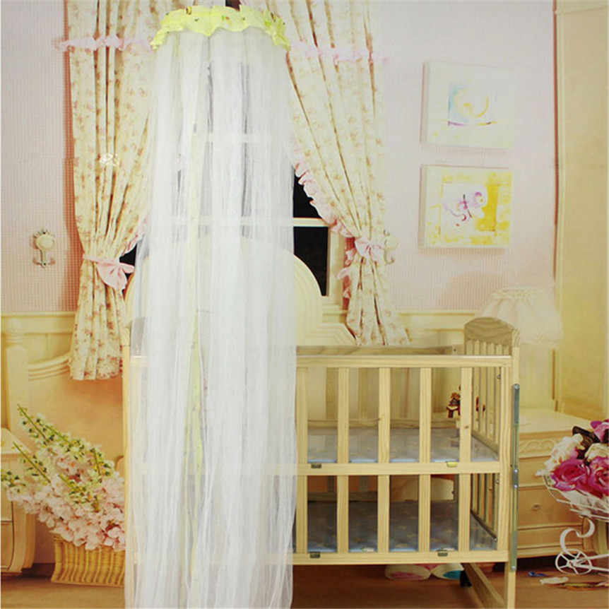 Летняя Детская противомоскитная для кровати сетка купольная форма штора-сетка для детская кроватка Навес необыкновенные украшения дома аксессуары