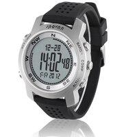 Waterproof Men Watch Altimeter Barometer Thermometer Compass Weather Forecast Chronograph Digital Sports Watch Spovan BRAVO I