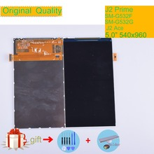 ORIGINAL For Samsung Galaxy Grand Prime Plus J2 Prime G532 SM-G532F LCD Display Screen Panel Monitor Module J2 Ace G532F Display samsung galaxy j2 prime sm g532f silver
