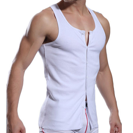 077b238a61f Superbody male pure cotton Tank fitness vest Tank Tops casual Men vest male