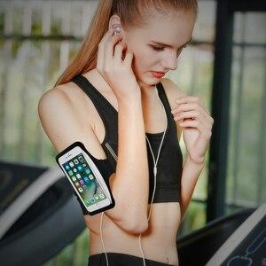 Сумки для бега спортивные нарукавники для Samsung A51 S20 S10 iPhone SE 2020 11 Pro XS Max X XR 8 7 Plus мобильный телефон Чехол держатель повязки