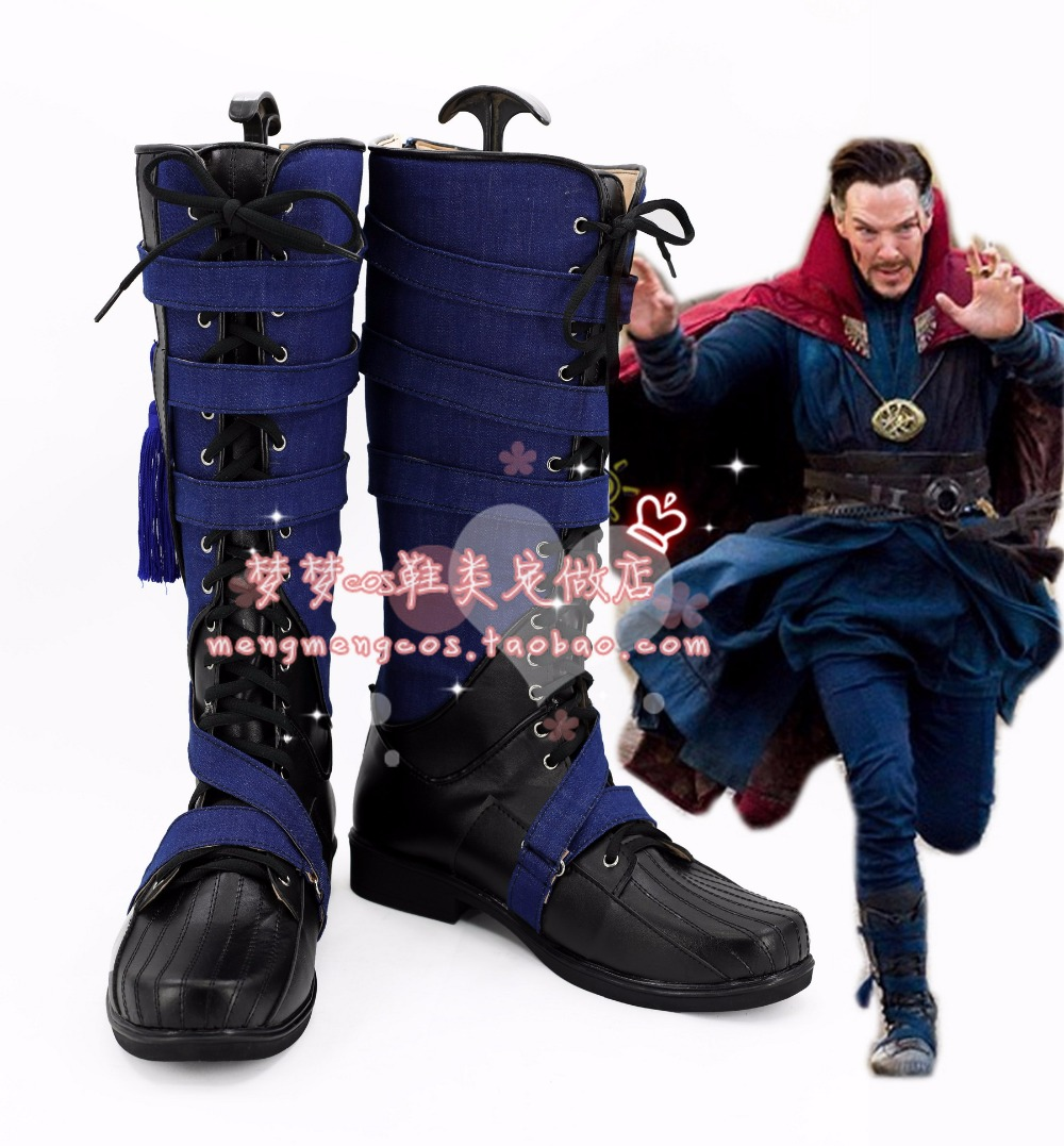 Doctor Strange Stephen Vincent Cosplay Shoes Cosplay Boots Custom Made