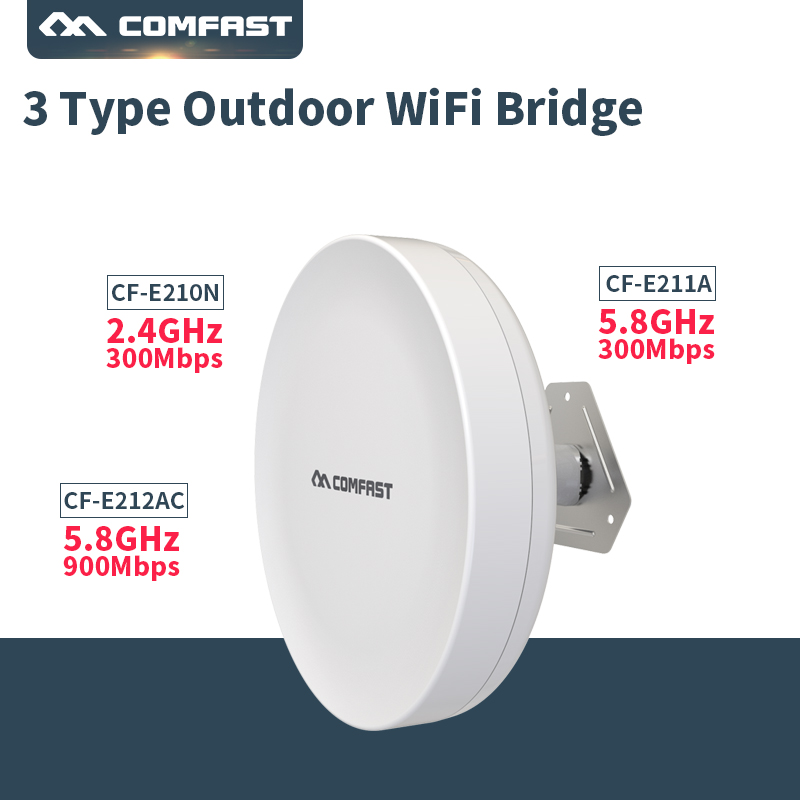2018! 300Mbps Outdoor CPE 5G 2.4G Wireless Outdoor CPE Wifi Bridge wi-fi Range Extender CPE Router With POE Wi-fi Access Point ...