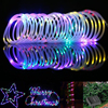 MUQGEW Solar Rotatable Outdoor Garden Camping LED Lamp Hose Lights 2017 Newest LED Lamp Flexible Wire