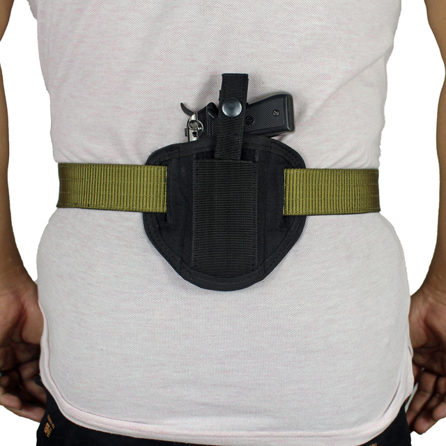 6 Position Ambidextrous Concealment Holster for Compact Subcompact Handguns Concealed Belt Holster for Right Left Hand Draw 2