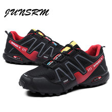 New luminous shoes Solomon series explosion-proof sneakers shoes chaos large size outdoor shoes non-slip off-road sports shoes