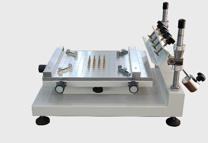 High-precision Manual PCB Silk Screen Press Precise Solder Paste Printing Machine Fast Free Shipping high quality manual paste