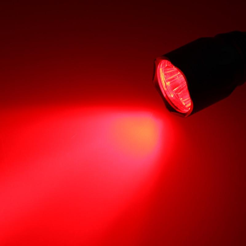 Vastfire poderoso 10000lm tático caça luz q5
