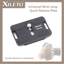 XILETU SW-60B Quick Release Plate QR Mounting Adapter Bracket With Wrist strap Hole For Arca Manfrotto Gitzo KIRK RRS