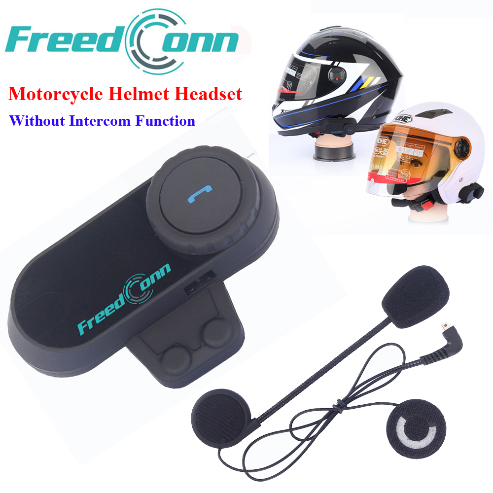 Motorcycle Helmet Stereo Headphone Waterproof Wireless Headsets Helmets Bluetooth Hand Free Headphone without Intercom Function free shipping wireless headphone
