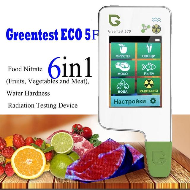 Greentest Eco 5F Thực Phẩm Kỹ Thuật Số Nitrat Bút Thử Máy Đo Nồng Độ Nhanh Chóng Phân Tích Trái Cây/Rau Củ/Thịt/Cá Nitrat Đo