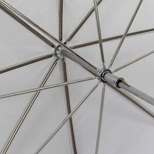 "Image 4 - 33""/83cm Studio Umbrella Black & White Rubber Cloth Stainless Steel Photography Reflective Umbrella Photo Studio Accessories"