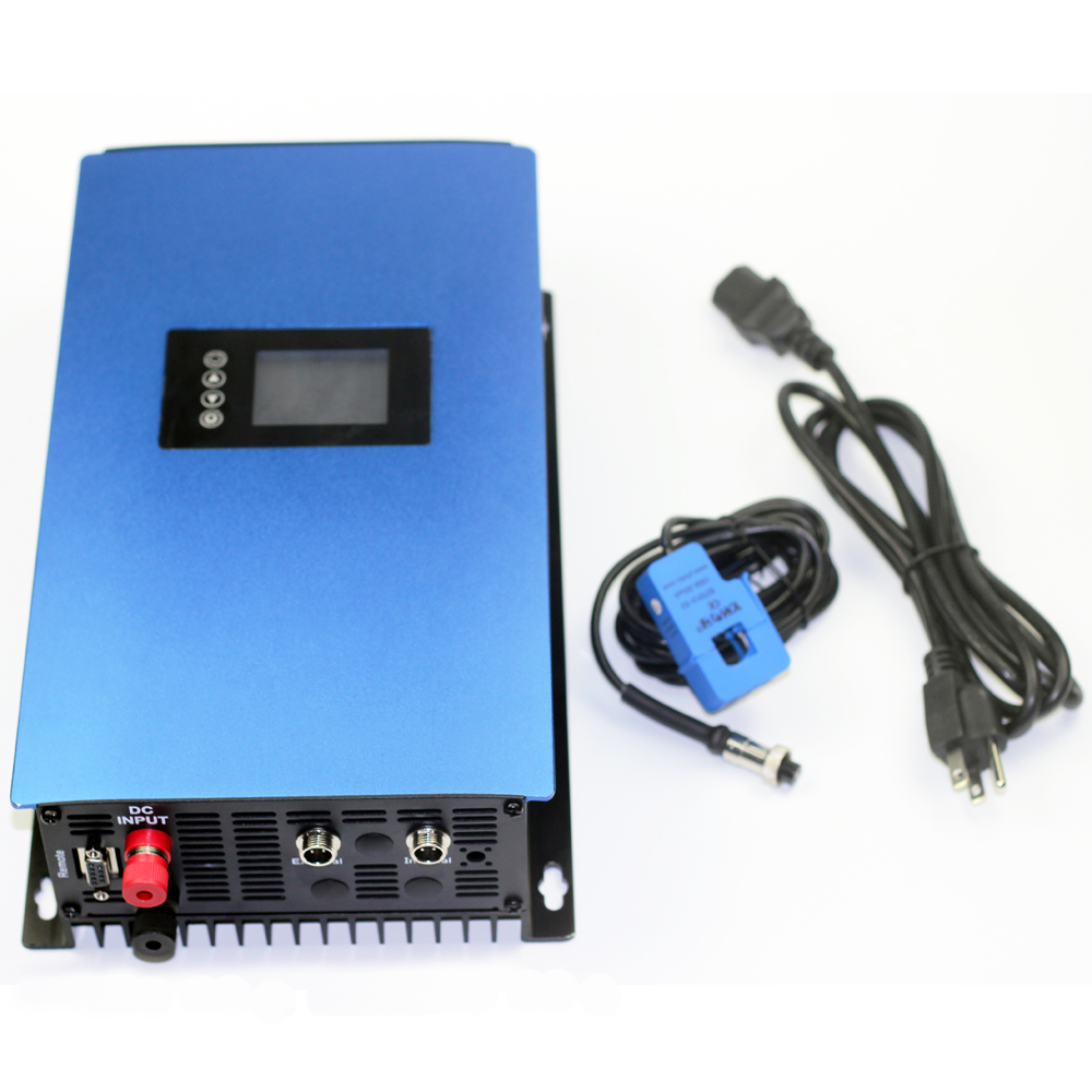 1000W Grid Tie inverter With built in power limiter, MPPT pure sine wave on grid inverter DC22 65V or 45 90V to 110V o