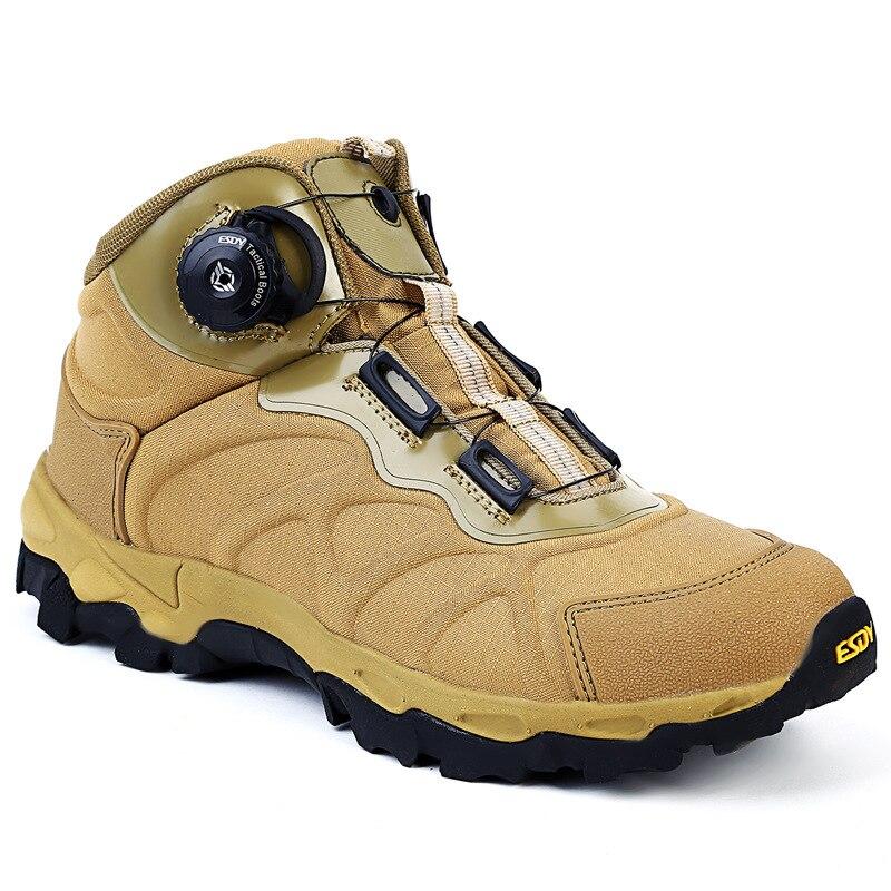 2019 extérieur militaire hommes BOA système de laçage bottes tactiques léger réaction rapide chaussures chaussures de randonnée chaussures de sport masculin EU45