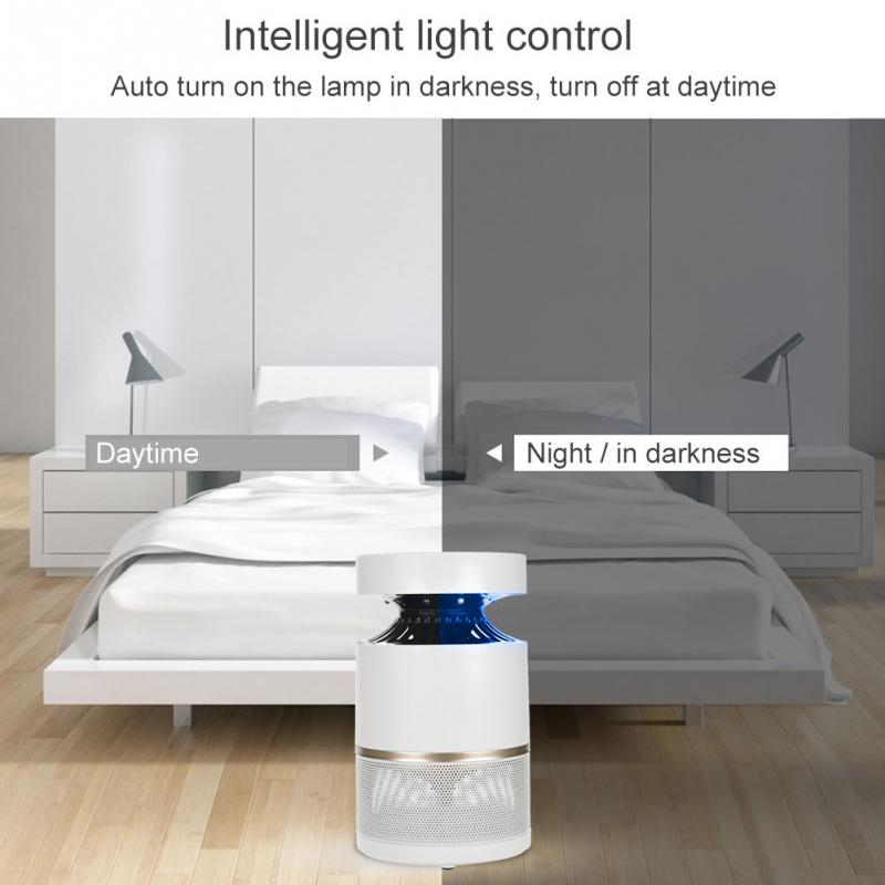 Intelligent Light Control Mosquito Killer Lamp Plug in UV Lamp Mosquito Insect Killer Lamp Electronics Mosquito Trap Light 220V in Mosquito Killer Lamps from Lights Lighting