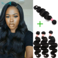 Malaysian Virgin Hair 4 Bundles Human Hair Extensions Body Wave Malaysian Weave Bundles Rosa Queen Hair Products Hair Style