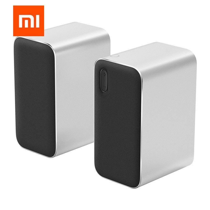 Xiaomi Bluetooth computer Speaker Professional Speaker Support Voice Call  Bluetooth Speaker Minimalist Sleek Design Portable Computer Speakers     - title=