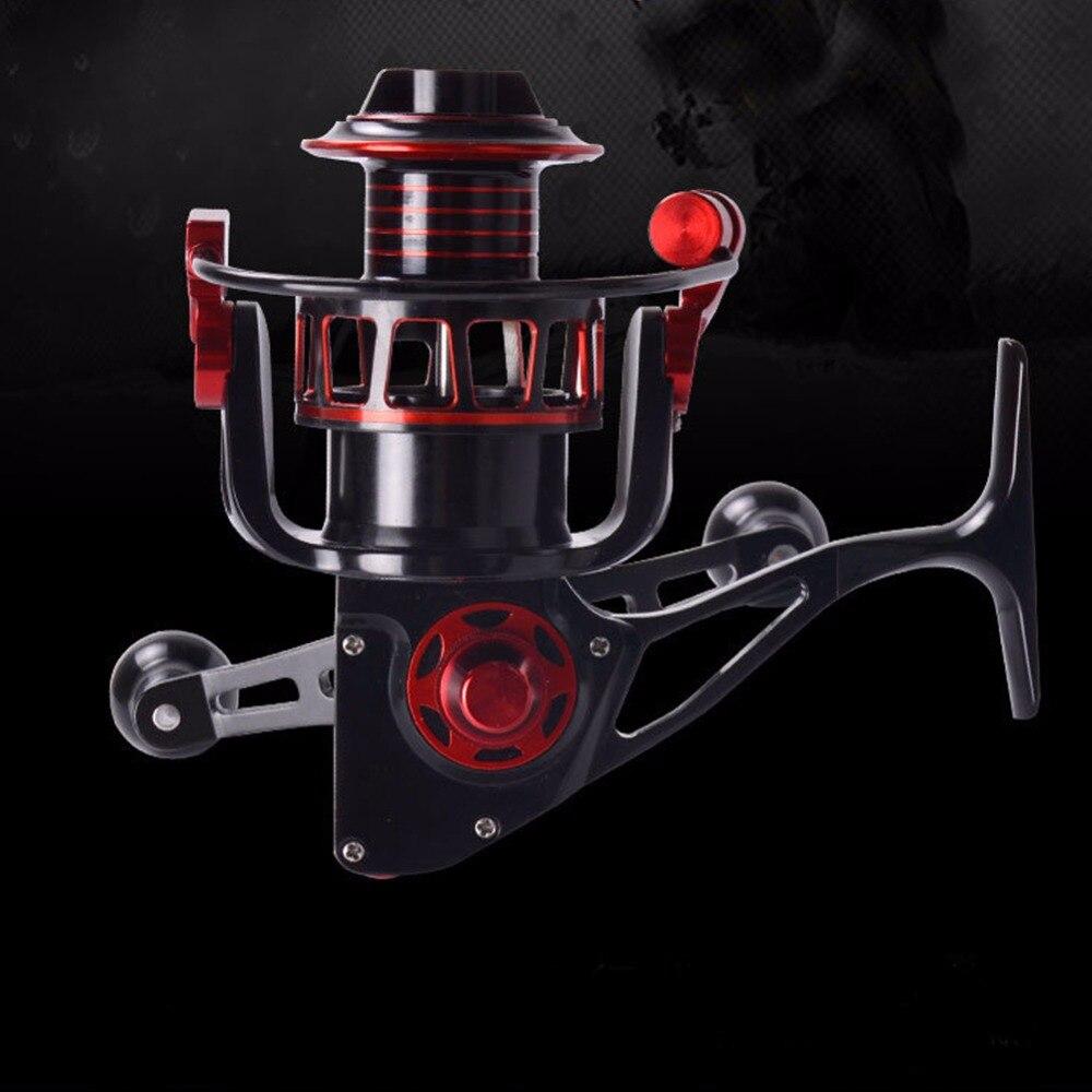 liga de aluminio sea fishing spinning reel 9 1bb gear ratio 5 2 1 carp fishing