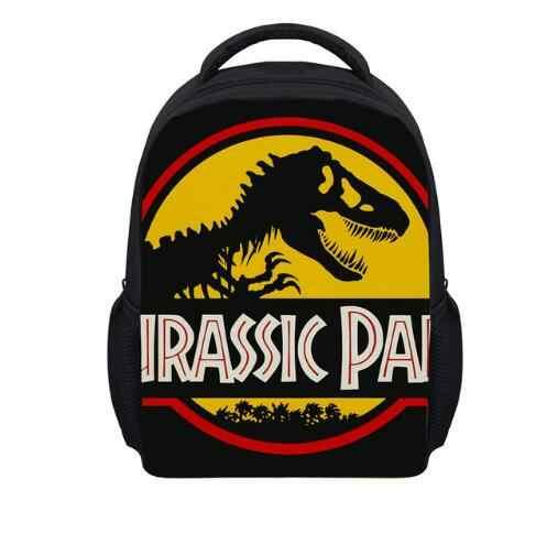 Классные детские школьные сумки с 3D принтом динозавра, зоопарк, леопард, тигр, животные, детские сумки для мальчиков, детские школьные сумки для детского сада, школьный ранец Mochila