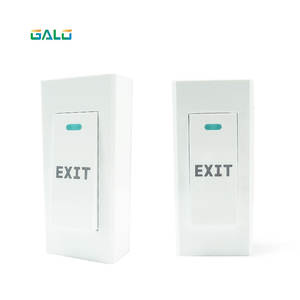 Exit-Switch DOOR for Door-Access-Control-System GATE Led-Light No-Com