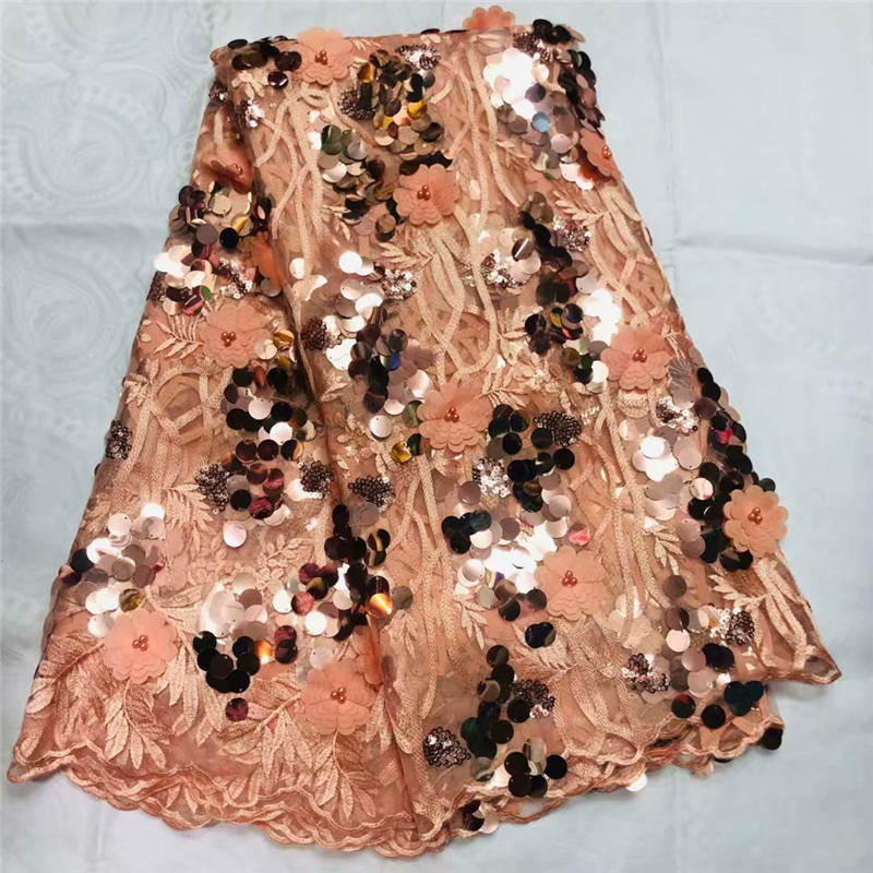 MW!Luxury African Lace Fabric High Quality French Organza Lace Fabric 2019 New Arrival Sequins Lace Fabrics For Wedding ! L32219MW!Luxury African Lace Fabric High Quality French Organza Lace Fabric 2019 New Arrival Sequins Lace Fabrics For Wedding ! L32219