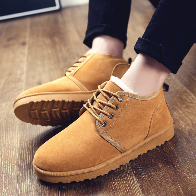 Ankle Boots for women shoes Snow Boots Plus Velvet Warm couple Winter boots women High top Cotton shoes Botas mujer in Ankle Boots from Shoes
