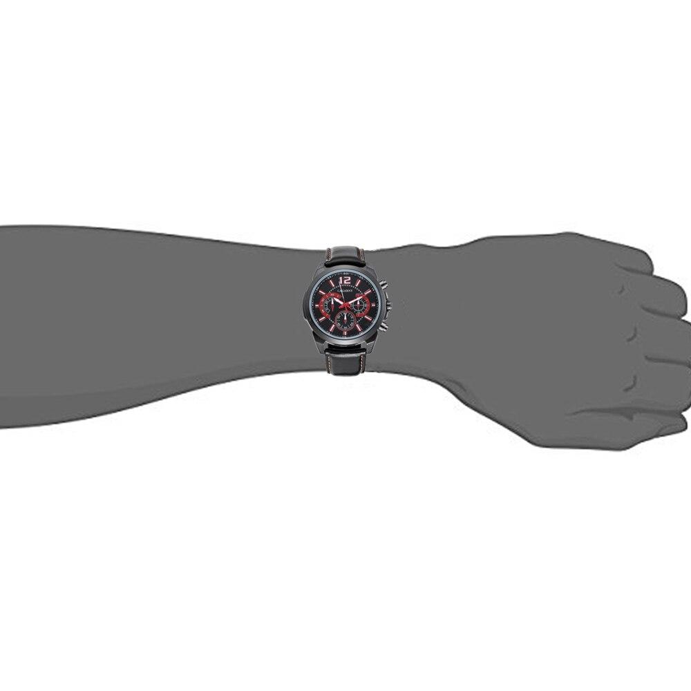 relógios de pulso militar preto pulseira de
