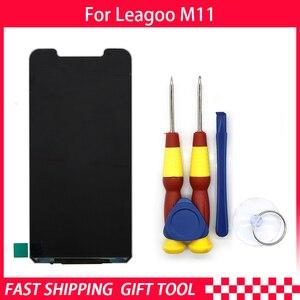 Image 2 - חדש המקורי LCD תצוגת LCD מסך עבור Leagoo M11 החלפת חלקים + לפרק כלי + 3M דבק