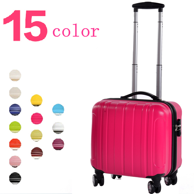 f896c5005 Pequeña maleta trolley PC de la alta calidad materiales de viaje maleta  ruedas universal de equipaje