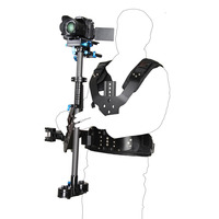 5-8キログラムプロカーボンファイバセットカメラスタビライザーベストアームビデオカメラデジタル