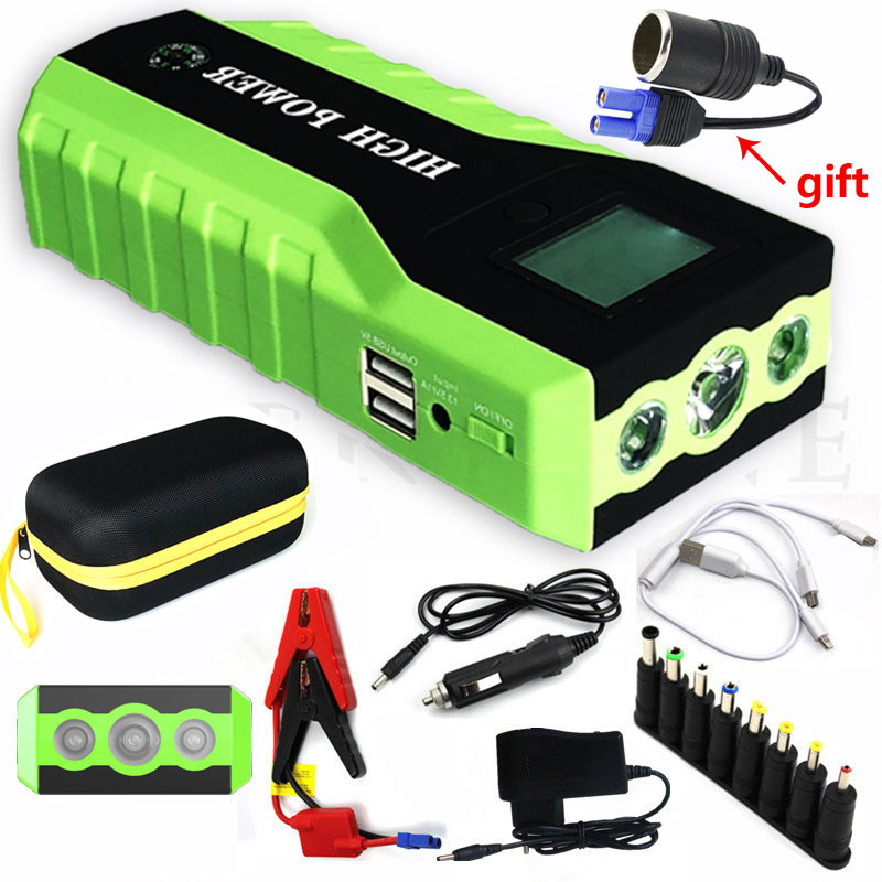 2019 Multifunction Jump Starter 89800mAh 12V 2USB 600A Portable Car Battery Booster Charger Booster Power Bank Starting Device2019 Multifunction Jump Starter 89800mAh 12V 2USB 600A Portable Car Battery Booster Charger Booster Power Bank Starting Device